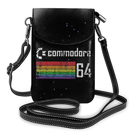 Commodore 64 Crossbody Handytasche Smartphone Geldbörse