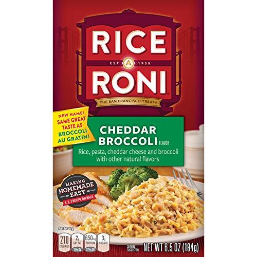 Rice-A-Roni, Rice Mix Cheddar Broccoli, 6.5 oz