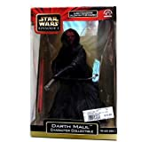 Darth Maul Character Collectible with Glow-in-the-dark Lightsaber