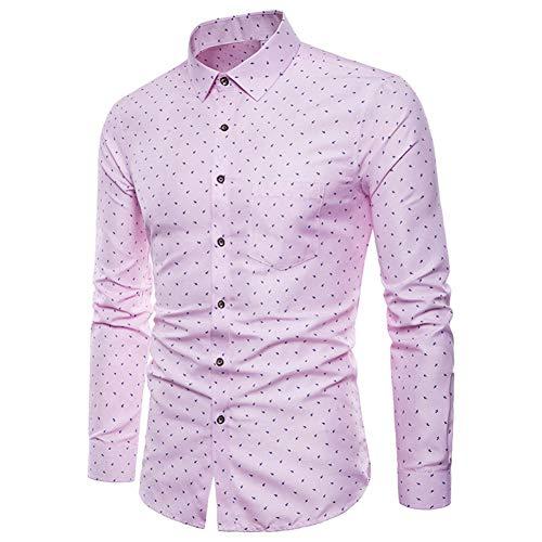 MUMU-001 herenshirt met lange mouwen Oxford formele casual pakken slim fit draaien onder kraag T-jurk shirts blouse sociale zakelijke jurk overhemd