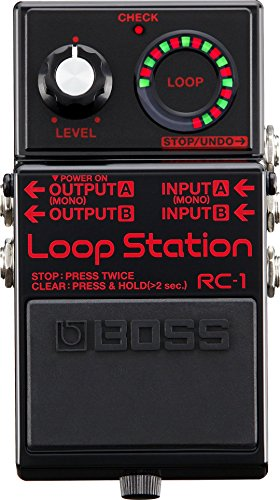 Pedal de Guitarra RC-1 BK Loop Station Boss