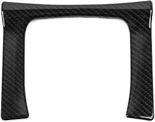 Thenice for 10th Gen Civic ABS Plastic Carbon Fiber Style Gear Panel Trim Shift Box Decoration Cover for 2016 2017 2018 2019 2020 Honda Civic -Manual Transmission