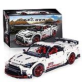 Technic Car Set De Construcción para Nissan GTR Racing Car, Technic Rally Car Set De Construcción, 3358 Piezas Bloques Compatibles con Lego,El Modelo De Construcción No Es Creado por Lego