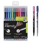 BIC Intensity Fineliner - Rotulador de punta fina, color varios colores 24 Stück