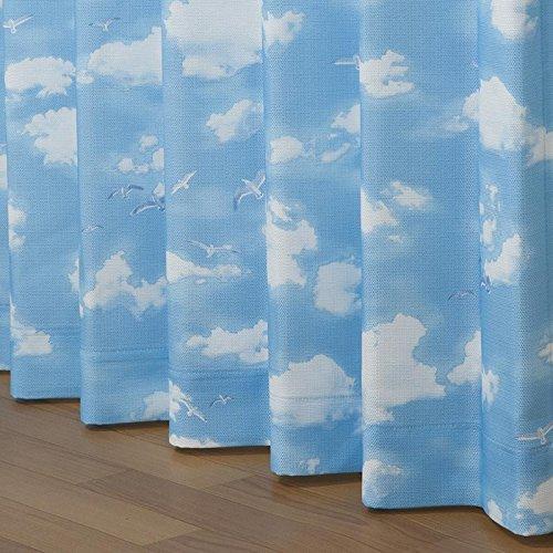 洗えるカーテン「ソリア」【UNI】(注文加工品)幅100×丈120cm2枚組(#9887224)