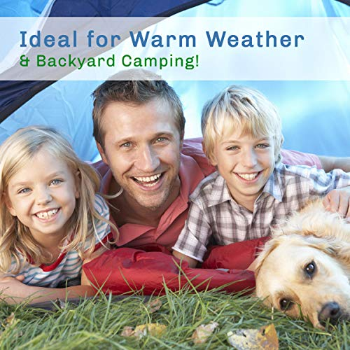 2 Person Tent – Rain Fly & Carrying Bag – Lightweight Dome Tents for Kids or Adults – Camping, Backpacking, and Hiking Gear by Wakeman Outdoors