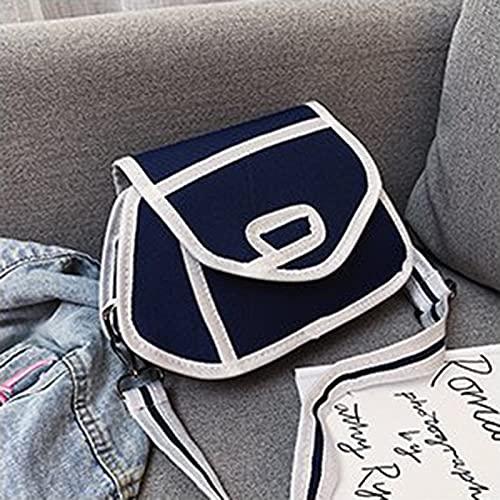 LYZL Bolsa de Lona bidimensional Anime Mochila Hombro Mensajero Bolsa Estudiante Anime 3D Imprimir Bolsas Escuela Ajustable Strap Strap Canvas Crossbody Bag para la Escuela,Dark Blue