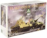 TAKOM TKO2105 TAK2105 1:35 Flakpanzer Coelian? oder 20mm Flakvierling 2in1, Mehrfarbig -