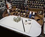 GameCraft Miniatures Painting Station - 26mm, for Vallejo and Army Painter Style Dropper Bottles