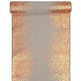 Santex 5877 Tischläufer, metallic, Blush und Kupfer, 1 Stück