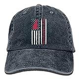WYYCLD Sports Denim Cap Vintage New Hampshire State America Flag-1 Men Snapback Caps Adjustable Baseball Cap -