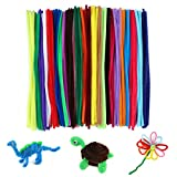 G2PLUS 240PCS Chenilla Tallos Pipe Cleaners Pipe Cleaners, Colores Limpiapipas Manualidades 6 mm * 30 cm para Manualidades y Decorar