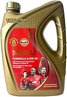 Gulf Formula G 5w-30 Fully Synthetic Engine Oil 5W30 4 Litres