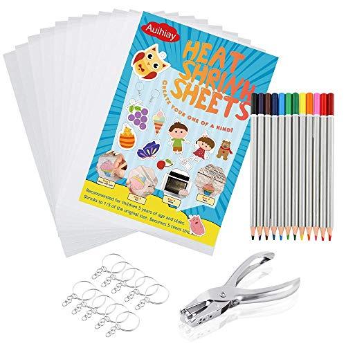 Auihiay 33 piezas El kit de láminas de plástico retráctil incluye 10...