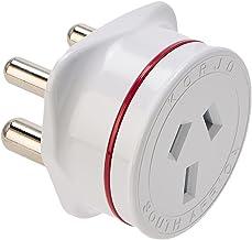 Korjo International Power Adapter, 5 Centimeters, White