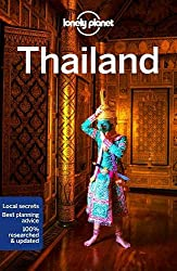 Lonely Planet guidebook for Thailand book cover