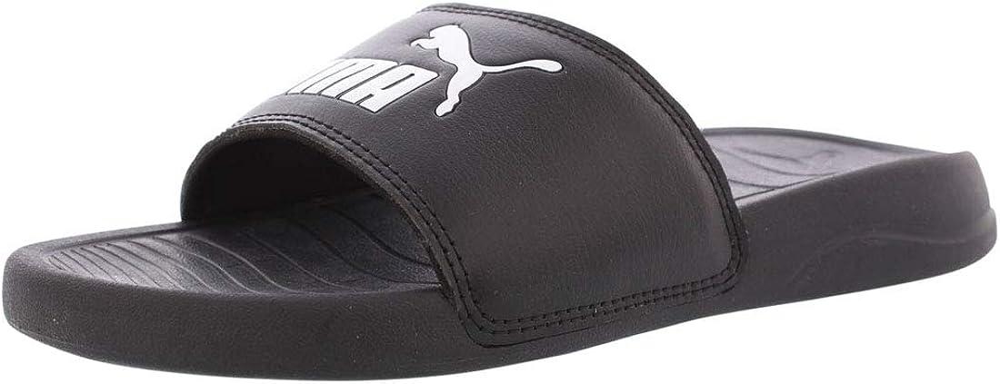 PUMA Unisex-Child Popcat Slide Sandal
