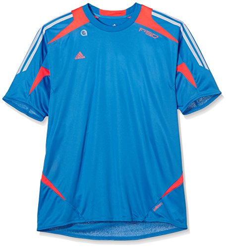 adidas Herren Trikot F50 Adizero Training, bright blue f12/infrared/white, XL, W54133,