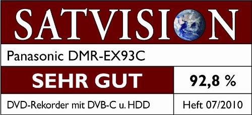 Panasonic DMR-EX93CEGK DVD-Rekorder 250 GB (HDMI, DivX-zertifiziert, DVB-C, DVB-T, USB 2.0) schwarz
