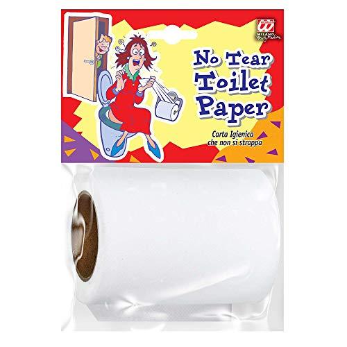 Widmann 09585 - Unzerreißbare Toilettenpapier, Scherzartikel, 1. April