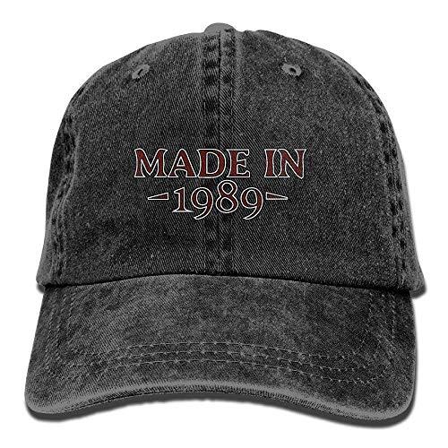 Denim-Baseball-Cap aus dem Jahr 1989 Adult Vintage Washed Outdoor Ort Hat Multicolor6