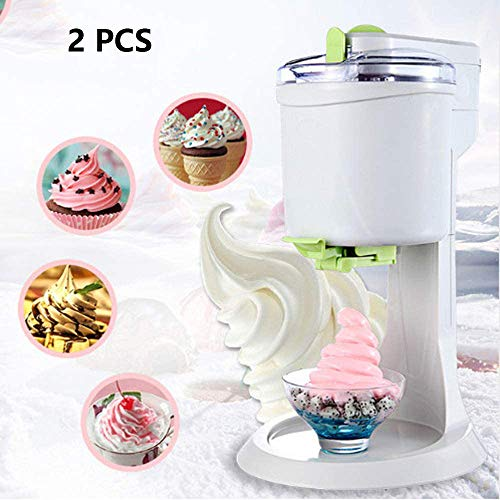 NBCDY 2 pcs Ice Cream Maker, Ful...