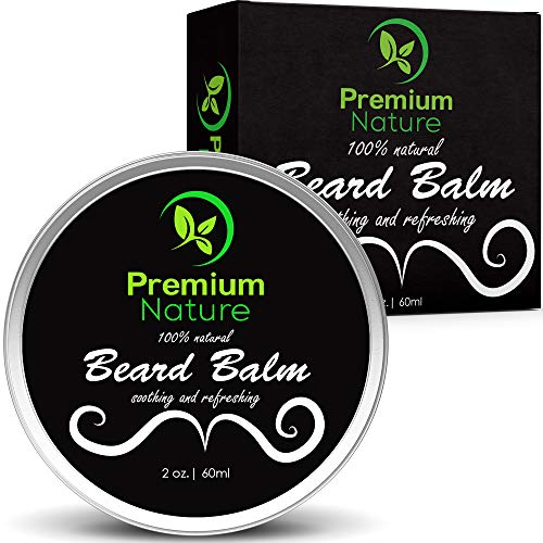 Premium Nature Baume adoucissant et revitalisant pour barbe et moustache