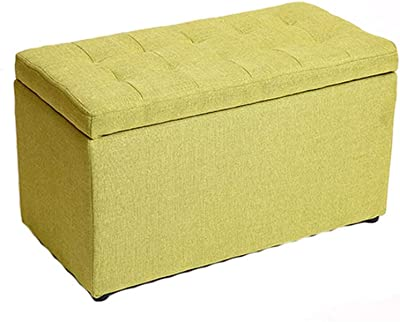 Awesome Amazon Com Giantex 30 L Folding Storage Ottoman Bench Inzonedesignstudio Interior Chair Design Inzonedesignstudiocom