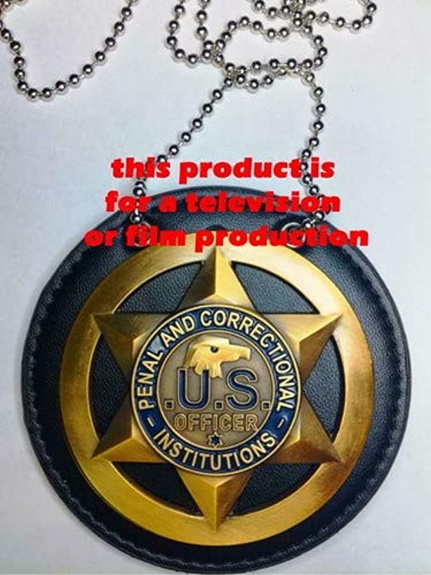 USMPC - U.S. Movie Prop Collection - Officer's Movie Prop for a Television or Film Production Set in a Penal and Correction plot