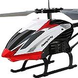 Smmli Mini Avion RC Hélicoptère Volant Intérieur avec Gyro Télécommande...