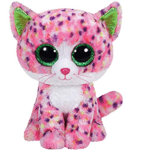 Carletto Ty 37054 Sophie Pink Cat 37054-Sophie-Katze Glitzeraugen