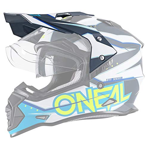 O\'NEAL   Motorrad-Helm-Ersatzteile   Street Adventure Motocross   Ersatzschirm Sierra Slingshot   Spare Visor Sierra Slingshot   Blau   One Size