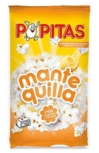 Popitas - Palomitas Sabor Mantequilla Para Microondas, 100 g
