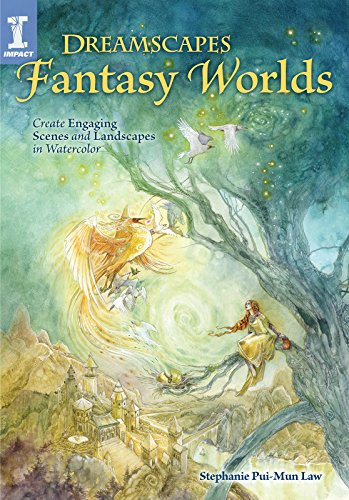 Dreamscapes Fantasy Worlds: Create Engaging Scenes and Landscapes in Watercolor (English Edition)