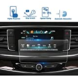LFOTPP Car Navigation Screen Protector for 2018 Buick Enclave 8 Inch, Tempered Glass 9H Hardness Car Infotainment Stereo Display Center Touchscreen Protective Film