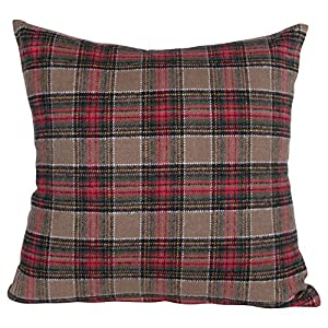"Add fun to this holiday season with a special Christmas pillow Transform the bedroom for the holidays by simply adding festive pillows Perfect for adding to a couch, chair, bench or window seat 18""L x 3""W x 18""H"