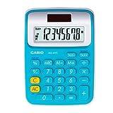 Casio MS-6VC-BU Basic Practical Calculator Tax Large Display Blue