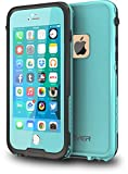CellEver iPhone 6 / 6s Case Waterproof Shockproof IP68 Certified SandProof Snowproof Full Body Protective Cover Fits Apple iPhone 6 and iPhone 6s (4.7') - Ocean Blue