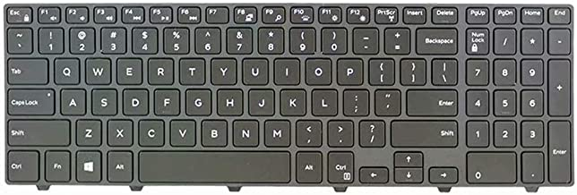 Givwizd Replacement Backlit Keyboard Compatible for Dell Vostro 15 3568 Notebook, US Layout