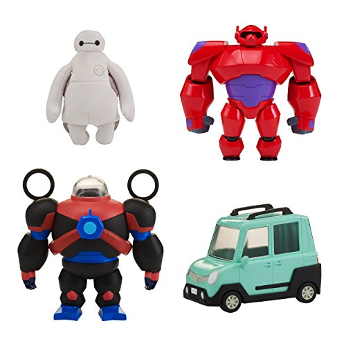 Big Hero 6 The Series Squish-to-Fit Baymax with Accessories
