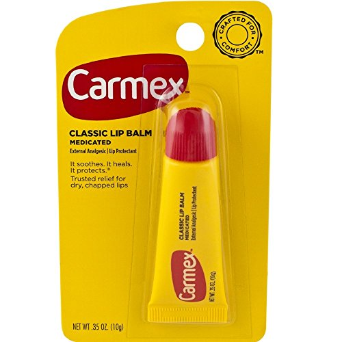 Carmex Classisc Lip Balm Medicated, 0.35 oz, Pack of 12