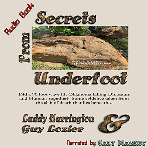Secrets from Underfoot audiobook cover art