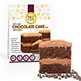 No Sugar Aloud Low Carb Chocolate Cake Mix (No sugar added, gluten free, Vegan, Paleo, Keto and Diabetic friendly)