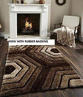 Selective Shaggy Living Room Carpet (5 x 7 Feet)
