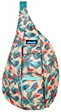 KAVU Original Rope Sling Bag Polyester Crossbody Backpack - Flamingo Fest