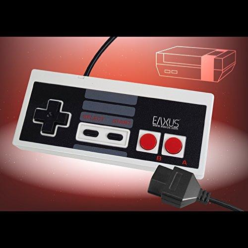 Eaxus® Retro Controller für das NES Nintendo Entertainment System im Classic Look