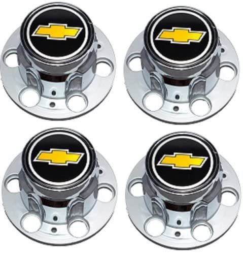 In a popularity BB Auto Set of 4 New Wheel Replacement Caps Center Colorado Springs Mall for Chevrolet