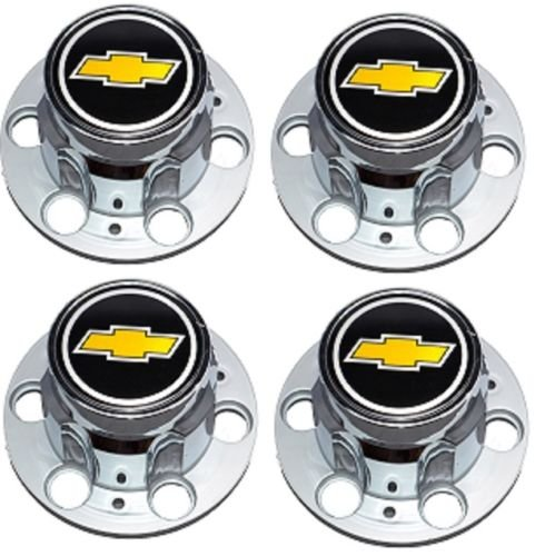 BB Auto Set of 4 New Wheel Center Caps Replacement for Chevrolet Chevy GMC Truck 6 Lug 15