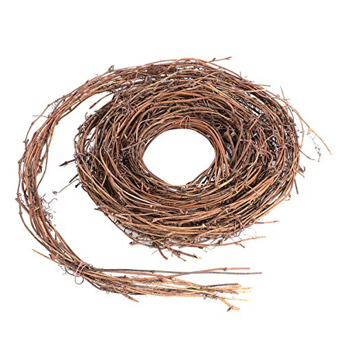 VORCOOL Grapevine Wreaths Vine Branch Wreath Christmas Rattan Wreath Garland Twig Vine Decoration for Christmas Holiday DIY Craft Wedding Door Wall Decor 4.6m