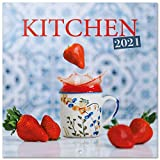 ERIK - Calendario de pared 2021 Kitchen, 30x30 cm